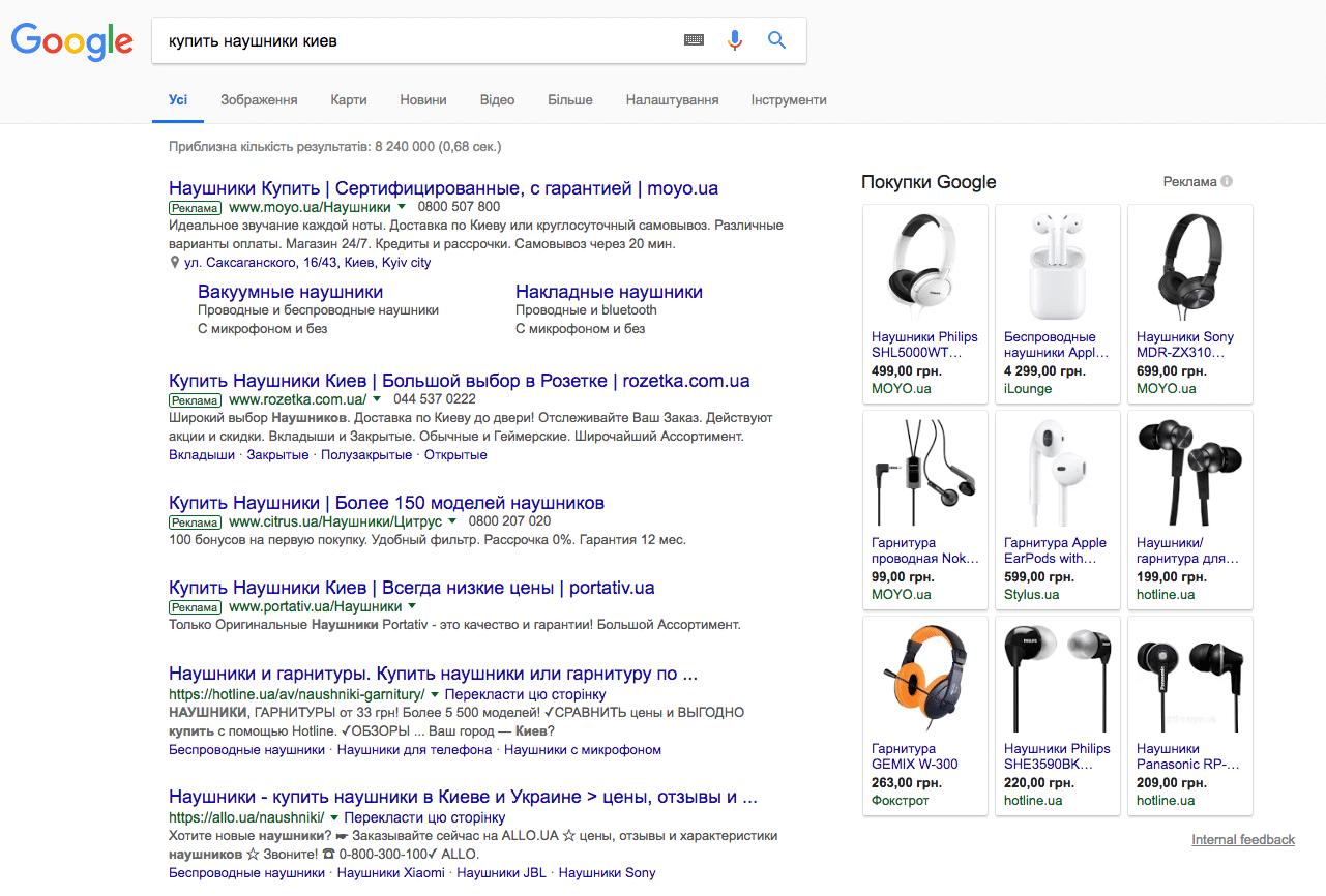 Google Shopping Торговые кампании и товарные объявления на базе Merchant Center