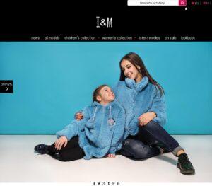 Clothing manufacturer tm Iren Models
